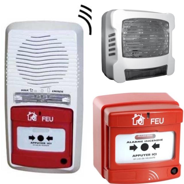 Alarme incendie T4 radio Montpellier Abry incendie