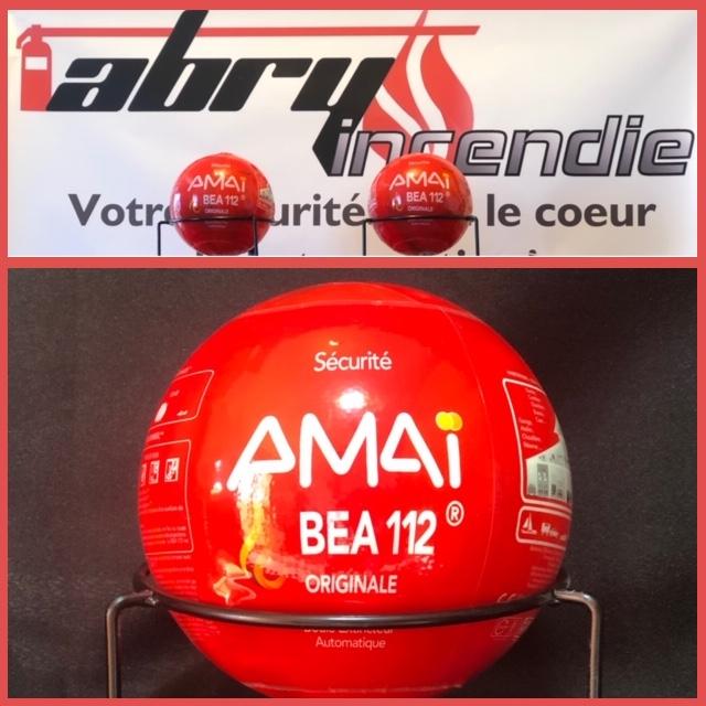 Boule extincteur BEA112 Montpellier extincteur automatique Abry incendie