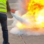 Formation incendie sur feu réel