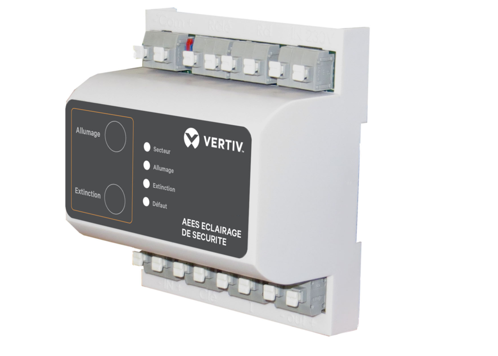 Bloc lumineux BAES télecommande TEL 200 / TEMPO2 VERTIV
